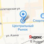 Мастерская по изготовлению ключей и ремонту обуви на карте Кирова