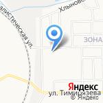 Медико-санитарная часть №43 на карте Кирова