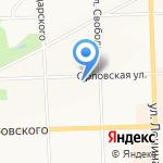 Терминал на карте Кирова