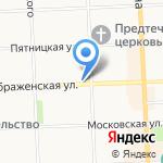 Экокафе на карте Кирова