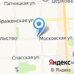 Евро на карте Кирова