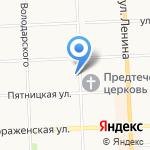 Знание на карте Кирова