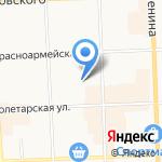 Пункт проката бензо на карте Кирова