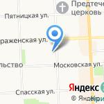 Cinema на карте Кирова