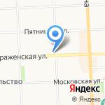 Волшебный на карте Кирова
