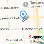 Северная клиническая больница скорой помощи на карте Кирова