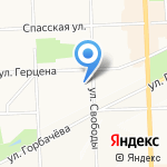 Федеральная сетевая компания Единой энергетической системы на карте Кирова