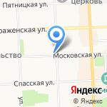 Трикси на карте Кирова