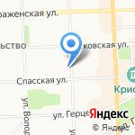 Мастер-Холод на карте Кирова