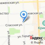 Щедрый хутор на карте Кирова