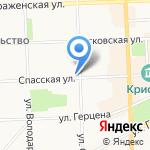 БЕЛЫЙ КОТ на карте Кирова