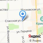 DIM на карте Кирова