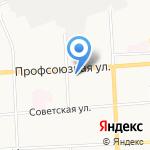 Юнистрой на карте Кирова