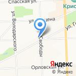 Дез Вит на карте Кирова