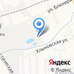 Автосервис №17 на карте Кирова
