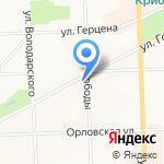 Жилищный сервис на карте Кирова