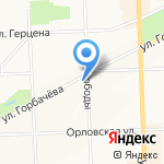 СОГАЗ-Жизнь на карте Кирова