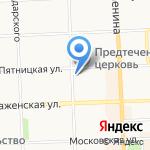 Юрком Вятка на карте Кирова