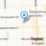 Марта на карте Кирова