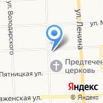 Кранспецдеталь на карте Кирова