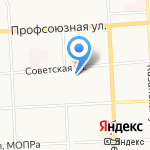 Птица43 на карте Кирова