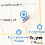 Магазин верхней женской одежды на карте Кирова
