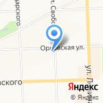 АКБ Авангард на карте Кирова