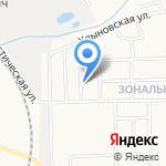 Дом на Хлыновке на карте Кирова