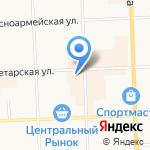 Куб на карте Кирова