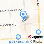 Латунские бани на карте Кирова