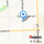 Компания автопомощи на карте Кирова