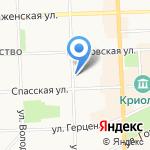 ВО на карте Кирова