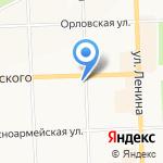 Центр детского и юношеского туризма и экскурсий на карте Кирова