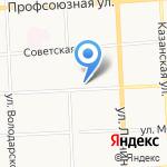Метролог на карте Кирова