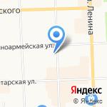 Арбат на карте Кирова
