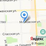 Техпром на карте Кирова