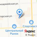 Китай-Город на карте Кирова