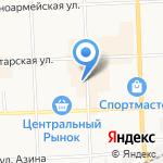 Карина на карте Кирова