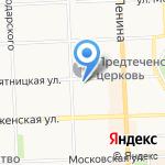 ПАНН-ТЕЛЕСЕРВИС на карте Кирова