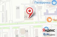Схема проезда до компании Биг в Кирове