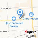 Быстроденьги на карте Кирова