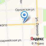 Мастерская по ремонту обуви и кожгалантереи на карте Кирова