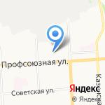 Технопарк на карте Кирова