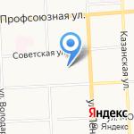 Оконные конструкции на карте Кирова