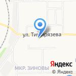 Золотой шафран на карте Кирова