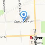 Илиос на карте Кирова