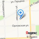 Юристъ на карте Кирова
