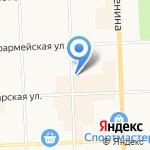 Кировский педагогический колледж на карте Кирова