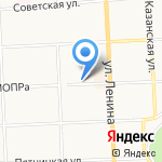 Швейная мастерская на карте Кирова
