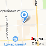 Слободской мясокомбинат на карте Кирова